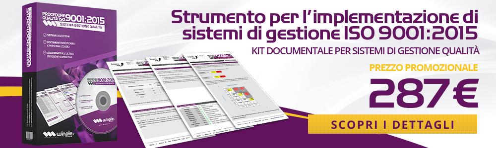 Acquista Procedure 9001 di Winple Italia